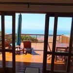 Honeymoon suite deck / patio