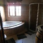 bathroom, there is only 1 room with an ensuite bathroom