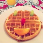 Cindy's lovely waffle