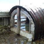 大樽の露天風呂(温すぎました)