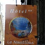 Hotel Street Sign