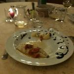 piatto di pesce del ristorante nell'hotel Napolit'amo di via Toledo