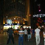 Evening at Taksim Street