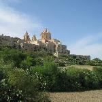 Mdina - view from below