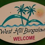 Sign by the Bungalows, similar as the ones by the road