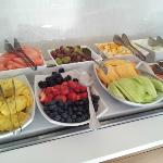 Mmmmmh - delicious fresh fruits