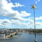 View of Stockholm from the top of the tower