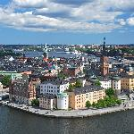 View of Gamla Stan from the top of the tower