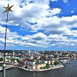 View of Gamla Stan from the tower