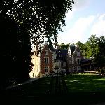 Vista do chateau Clos Lucé