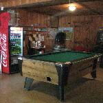 Pool Table, snacks, video games in  the Store