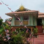 The Malaysian Living Museum - Kampon Morten across the river.