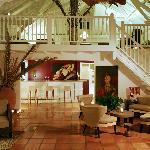 Le salon de la villa principale