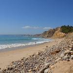 Albuferia beach, Albuferia, Portugal