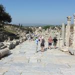 Main street of Ancient Ephesus