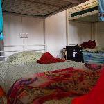 Mi estupenda cama donde dormi como una bella durmiente besossss Singapour