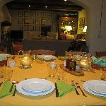 La Sala da pranzo e il Salotto