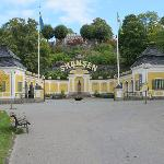 entrance to skansen