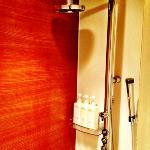 Lovely modern shower.