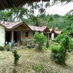 dubbele stenen cottages