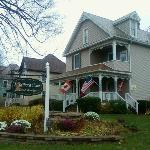 The front of the Terra Nova House Bed & Breakfast