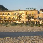 View of the Hotel Gran Sol from the beach
