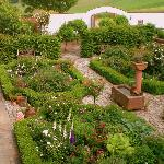 unser beliebter Rosengarten