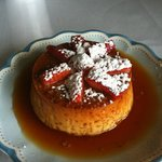 Gorgeous flan -- the best EVER