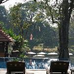 la piscine au bord du fleuve