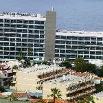 Hotel from above Los Gigantes town
