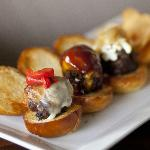 Three-way sliders and housemade kettle chips