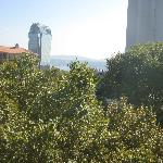 Our view of the Bosphorus from Park Suite 6th floor