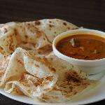 Roti with Curry Beef