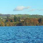 View of the Cragwood from Windermere cruise