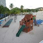 View of kids play area