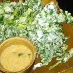 Yum Phak Boong - flash fried siamese watercress