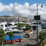 Naples City coastline