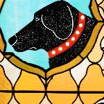 Stained Glass at Dog Chapel
