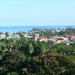 View of Downtown Ocho Rios from Property