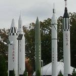 Another outdoor Rocket Display