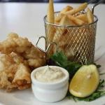 Beer battered whiting fillets from our lunch menu