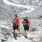 glacier trekkers