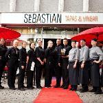 The staff welcomes You to San Sebastian Tapas & Vinbar