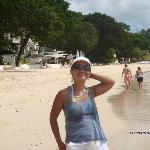 AT SANDY LANE BEACH
