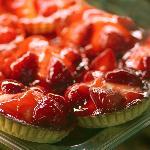 Hmmm - strawberry tarts