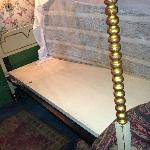 check out filthy matress in Hidden Garden room
