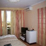 Room with TV Aircon & fridge