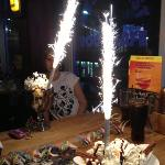 the best cake sparklers ever