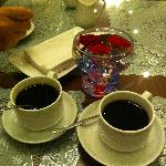 Free flow of nice coffee