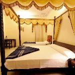 Triple Bed Royal Room, Laxmi Palace Hotel (www.laxmipalacehotel.com), Jaipur, Rajasthan, India
